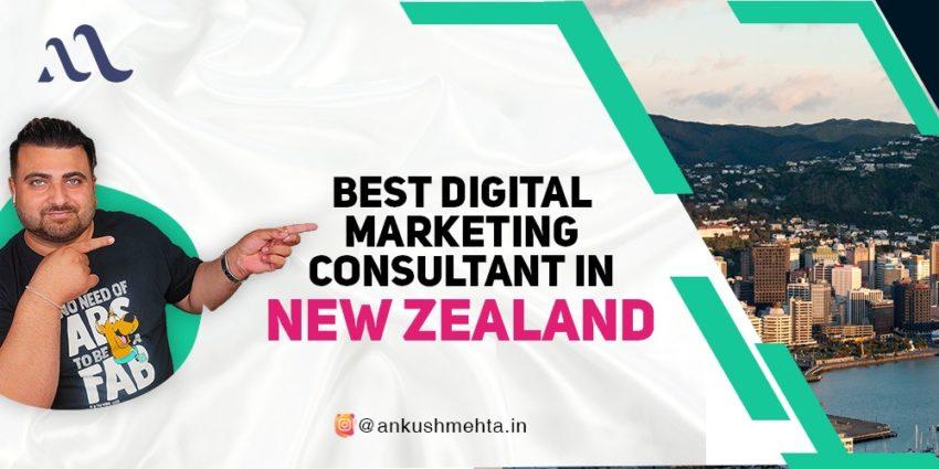 Best Digital Marketing Consultant in New Zealand